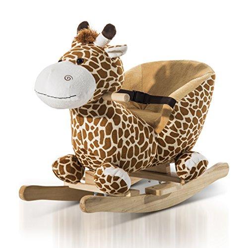 HOMCOM Schaukeltier Giraffe - 2