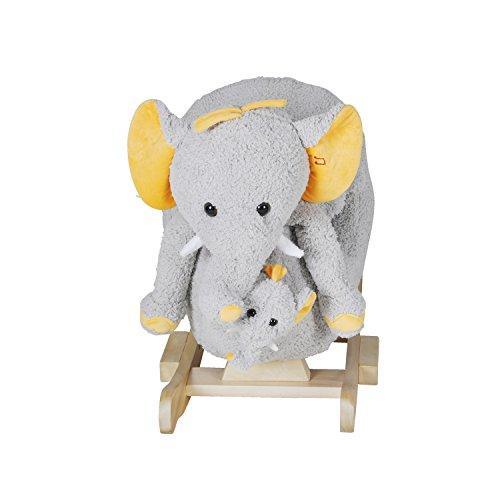 Knorrtoys Schaukeltier Elefant Nele - 3